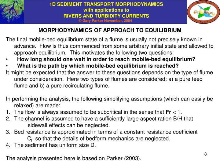MORPHODYNAMICS OF APPROACH TO EQUILIBRIUM