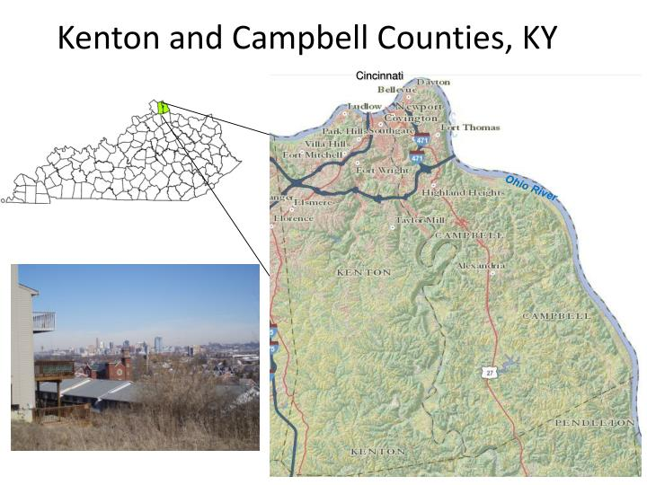 Kenton and campbell counties ky