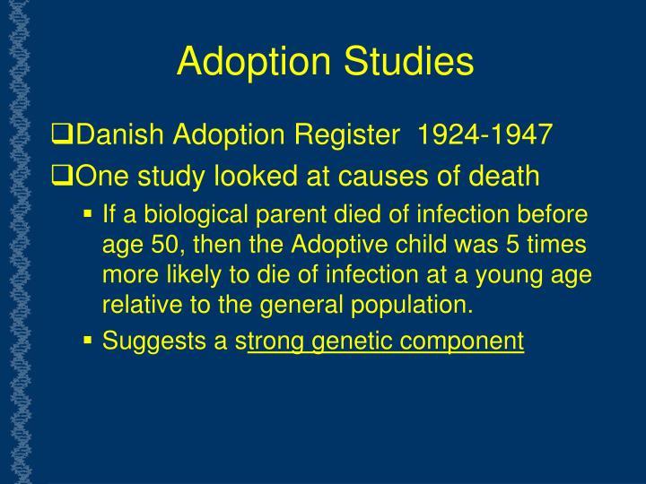 Adoption Studies