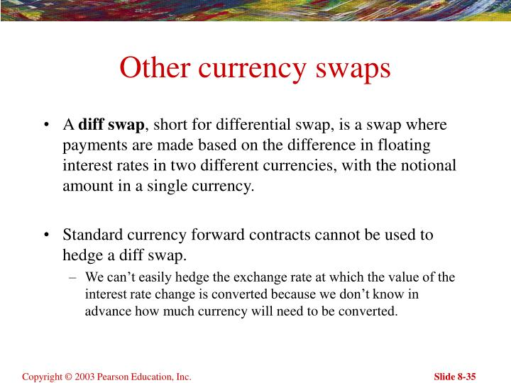Other currency swaps