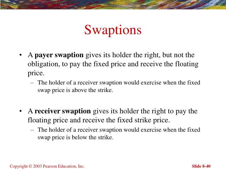 Swaptions