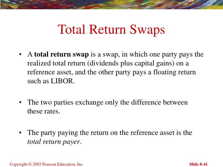 Total Return Swaps