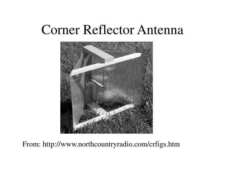 Corner Reflector Antenna