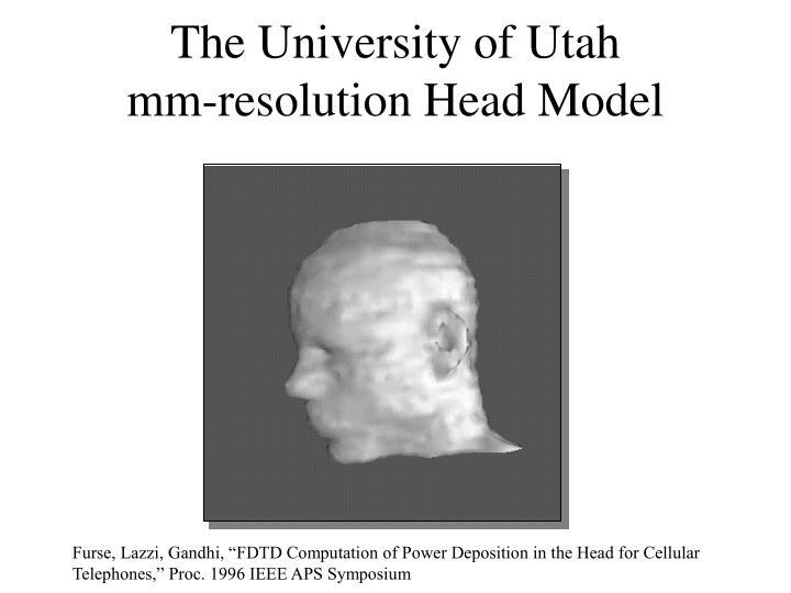 The University of Utah