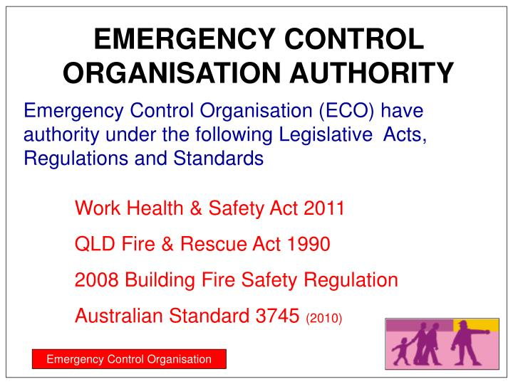 EMERGENCY CONTROL ORGANISATION AUTHORITY
