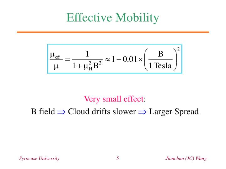 Effective Mobility