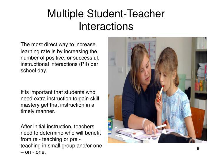 Multiple Student-Teacher