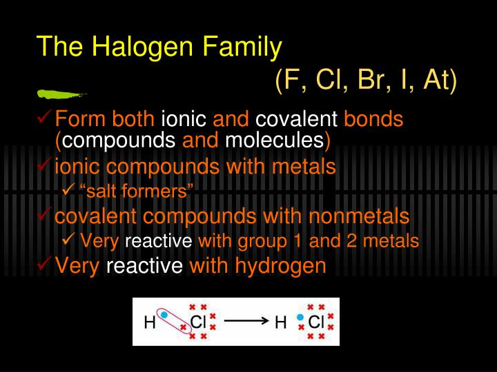 The Halogen Family