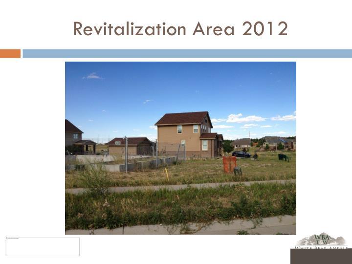 Revitalization Area 2012