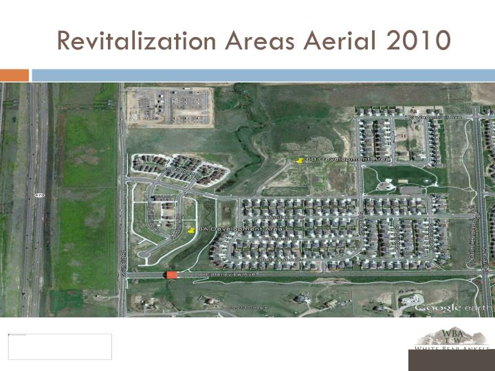 Revitalization Areas Aerial 2010