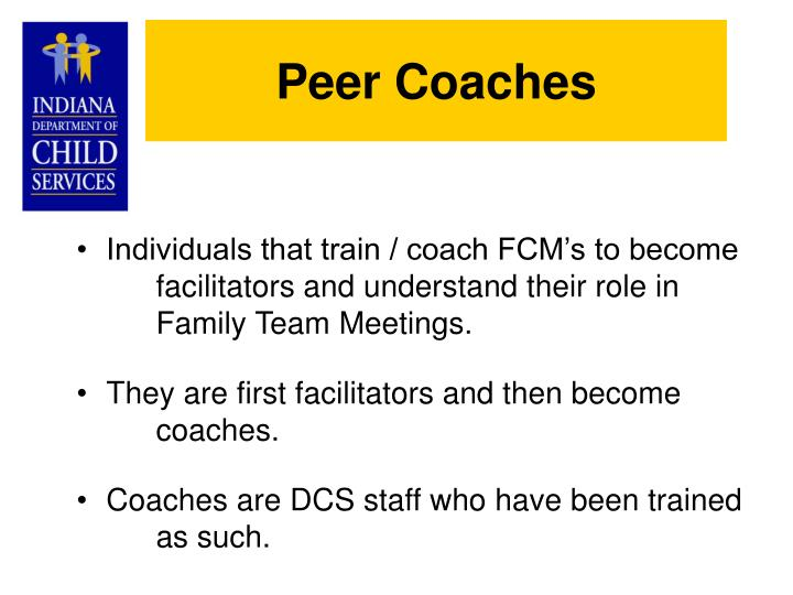 Peer Coaches