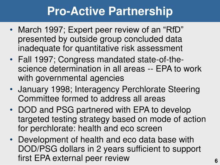 Pro-Active Partnership