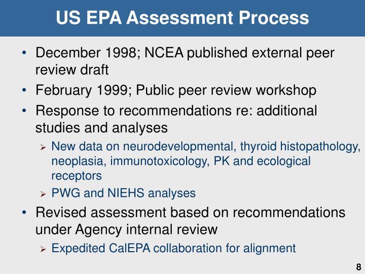 US EPA Assessment Process