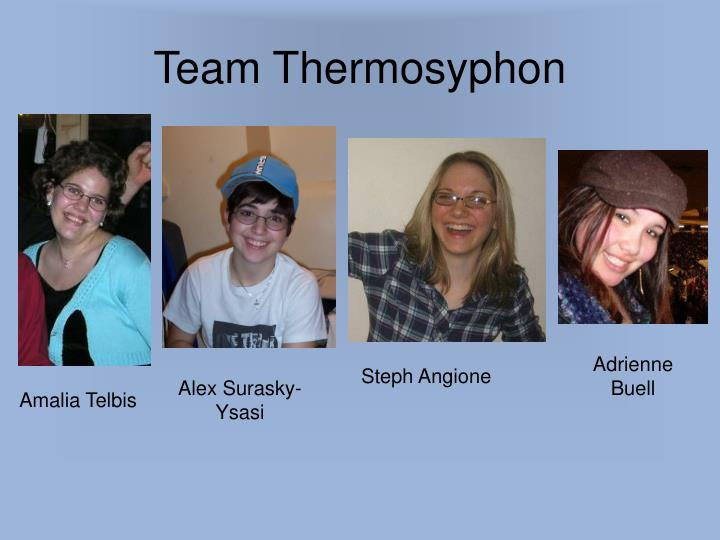 Team Thermosyphon