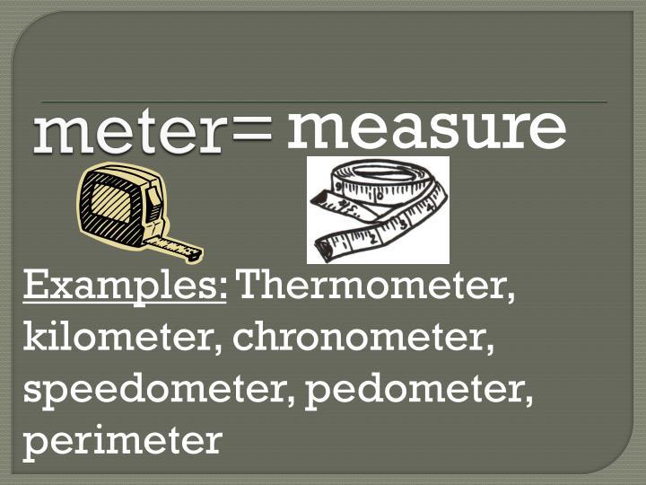 meter=