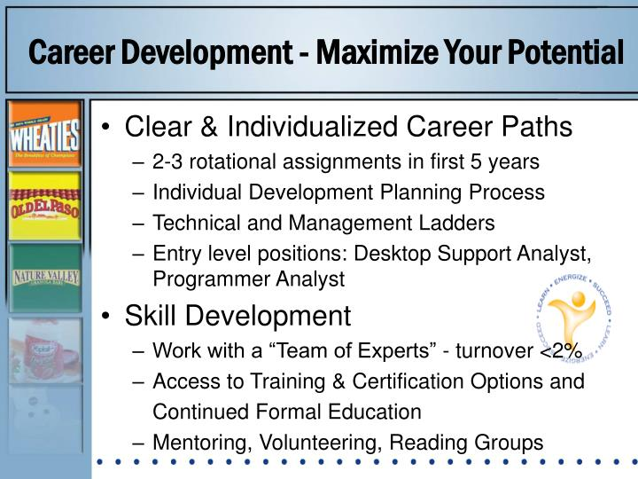 Career Development - Maximize Your Potential