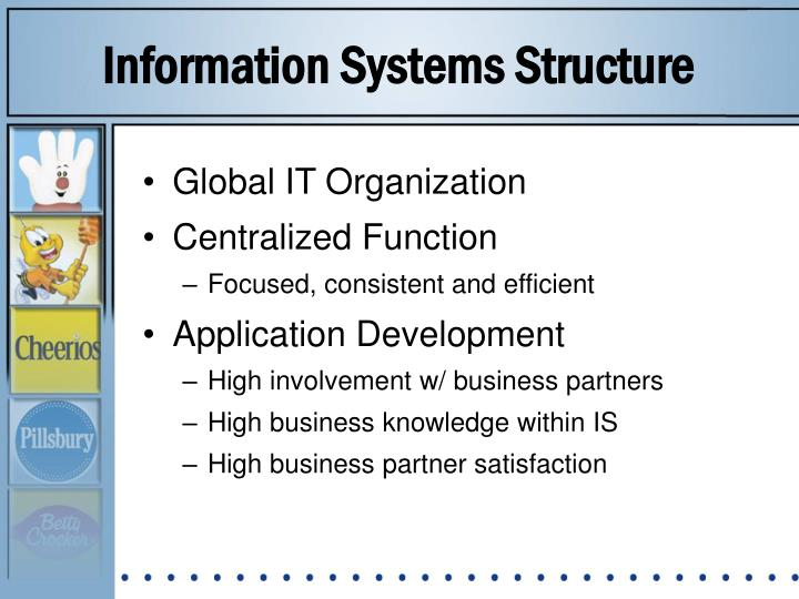Information Systems Structure