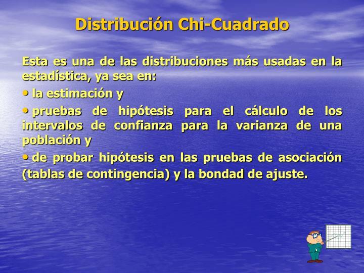 Distribución Chi-Cuadrado