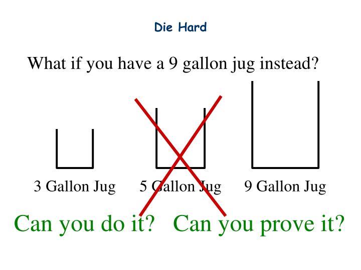 9 Gallon Jug