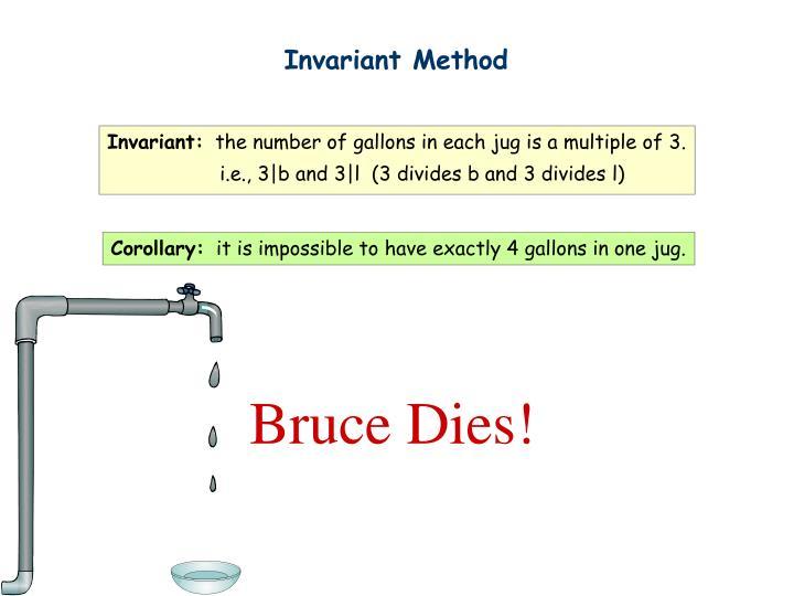 Invariant Method