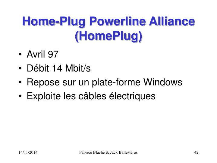 Home-Plug Powerline Alliance (HomePlug)