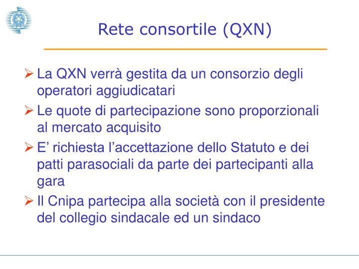 Rete consortile (QXN)