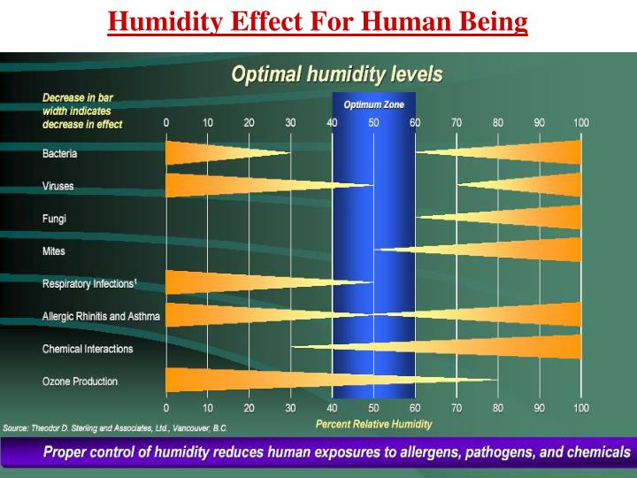 Humidity Effect For Human Being