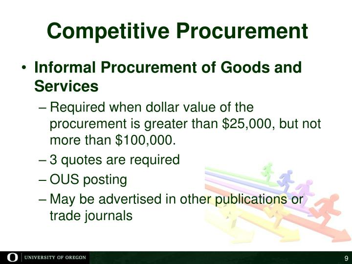 Competitive Procurement