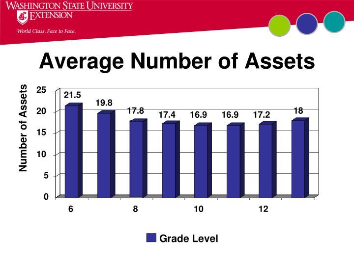 Average Number of Assets
