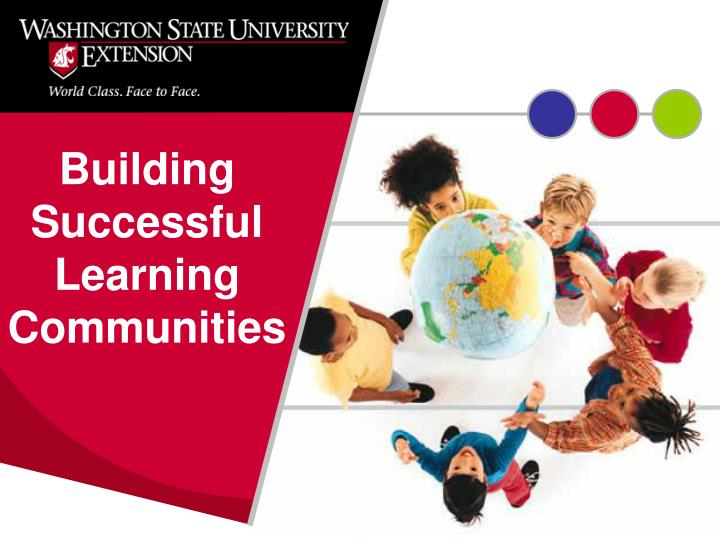 Building successful learning communities