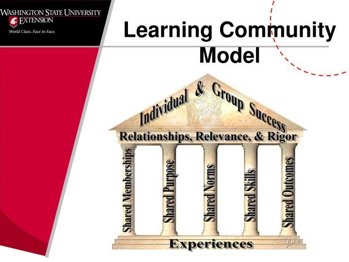 Learning Community Model