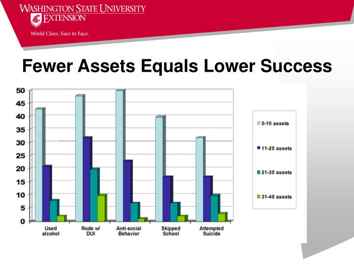 Fewer Assets Equals Lower Success