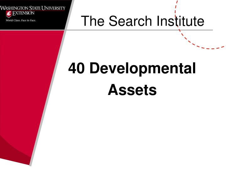 The Search Institute