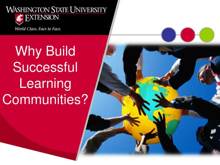 Why Build Successful Learning Communities?
