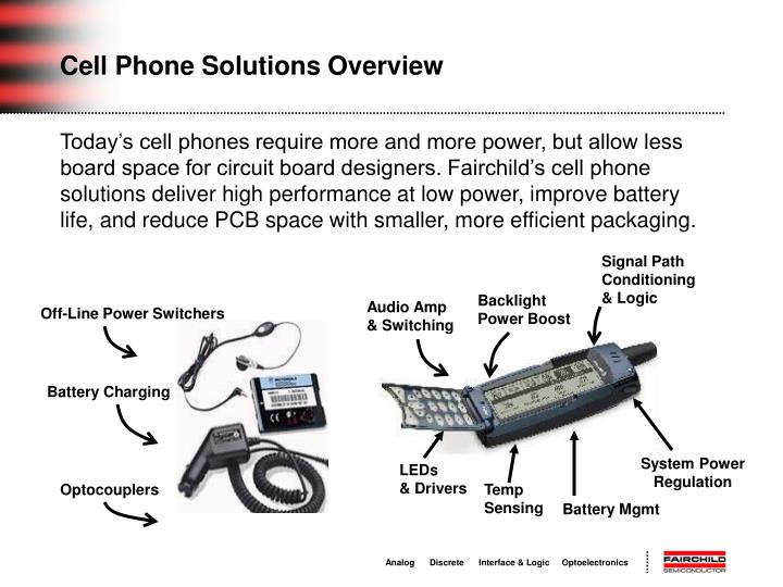 Cell Phone Solutions Overview