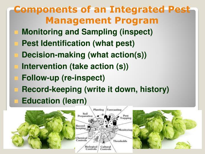 Monitoring and Sampling (inspect)