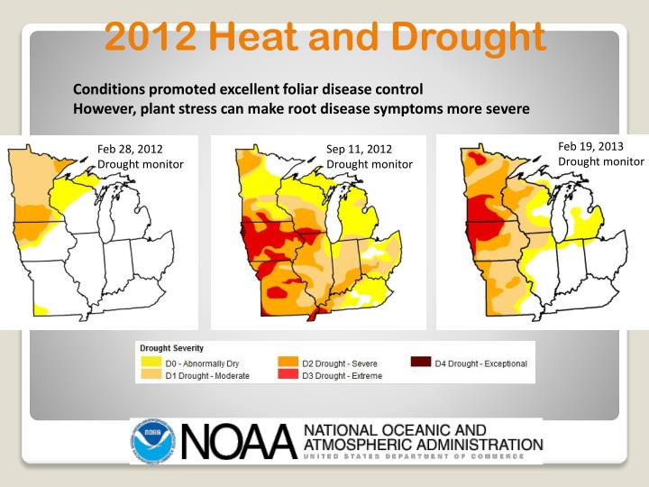 2012 Heat and Drought