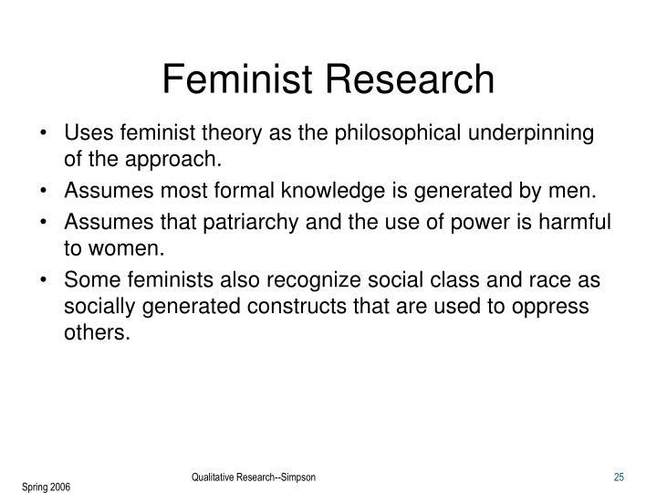 Feminist Research