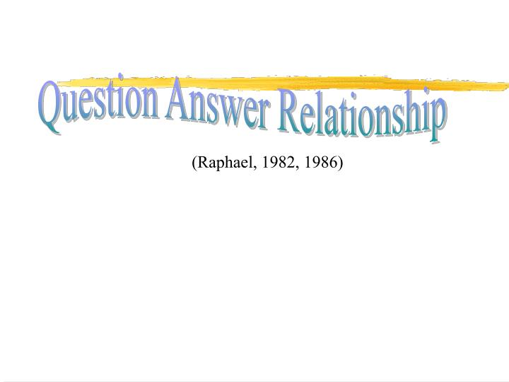 Question Answer Relationship