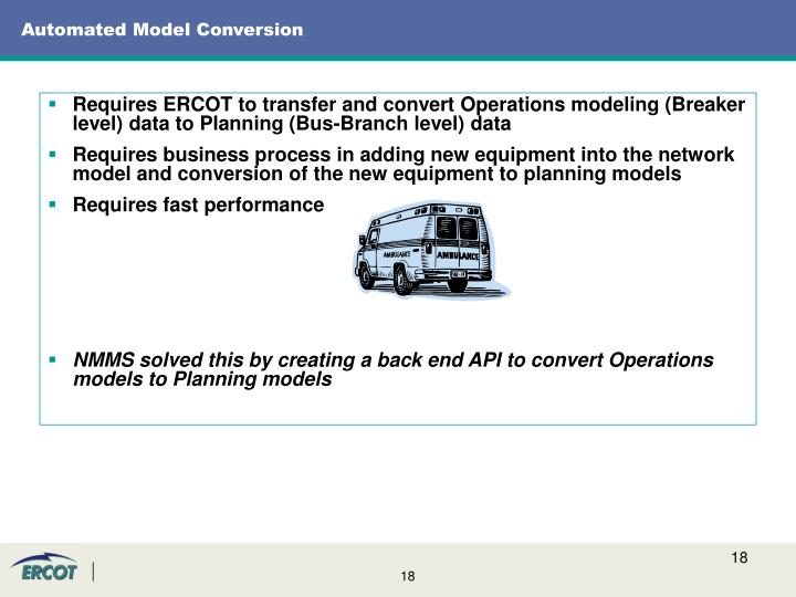 Automated Model Conversion