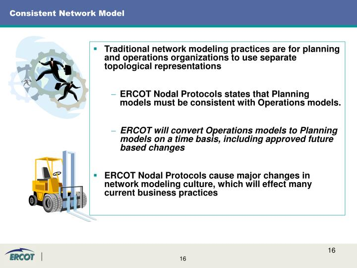 Consistent Network Model