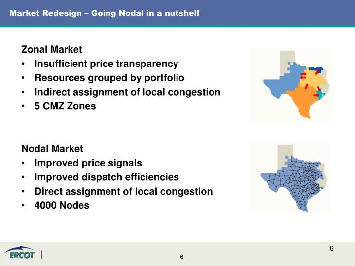 Market Redesign – Going Nodal in a nutshell