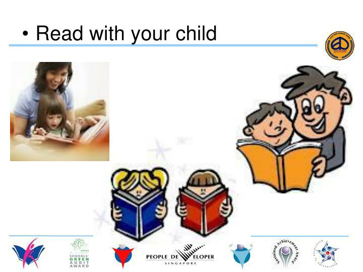 Read with your child