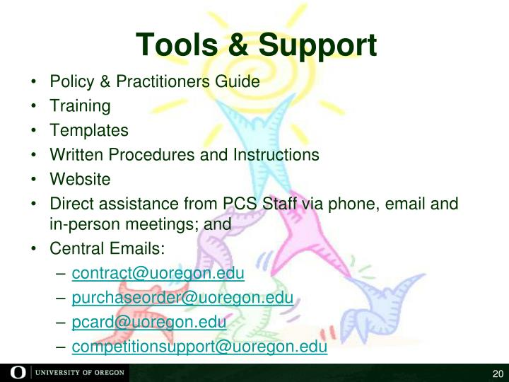 Tools & Support