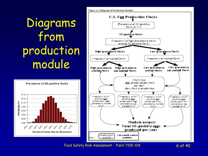 Diagrams from production module