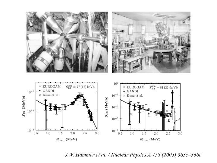 J.W. Hammer et al. / Nuclear Physics A 758 (2005) 363c–366c