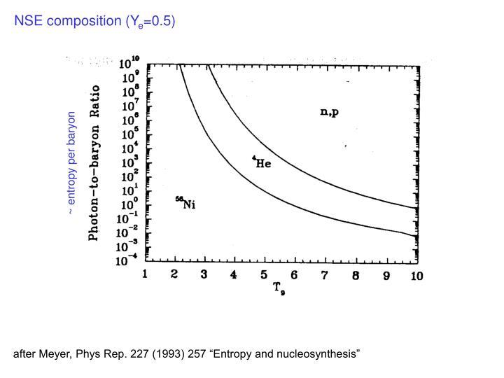 NSE composition (Y