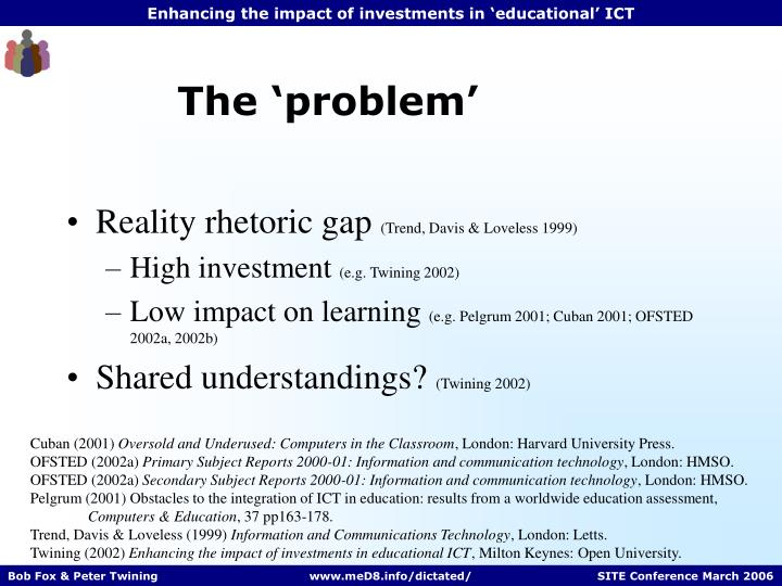 The 'problem'