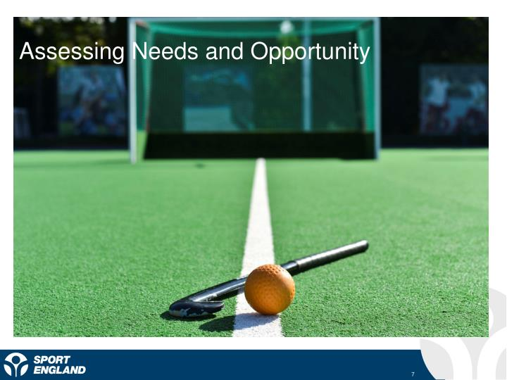 Assessing Needs and Opportunity
