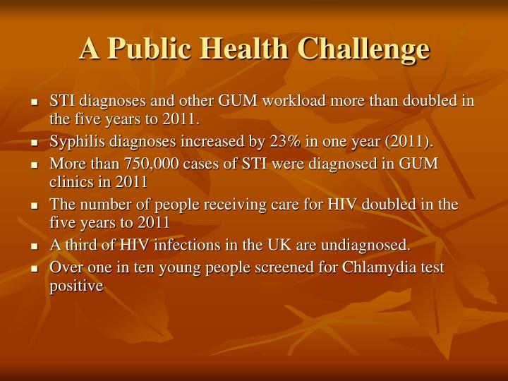 A Public Health Challenge